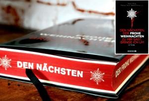 Cover Anthologie Den naechsten der frohe Weihnachten zu  mir sagt-Schwart-roter Anschnitt